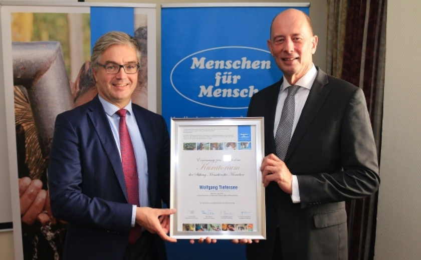 Stiftung Menschen für Menschen_Neues Kuratoriumsmitglied Wolfgang Tiefensee