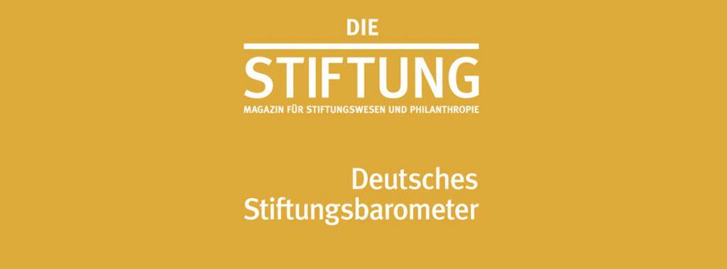 4. Stiftungsbarometer