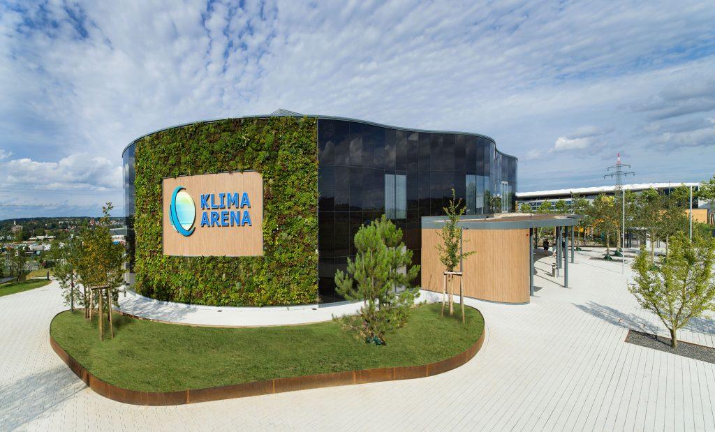 Klima Arena mit Themenpark