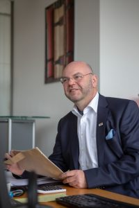 Thomas Erdle, Geschäftsführer Kölner Gymnasial- und Stiftungsfonds