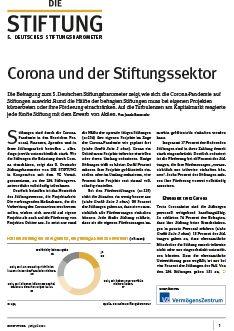 DIE STIFTUNG ist die reichweitenstärkste unabhängige Publikationsplattform für das Stiftungswesen im deutschsprachigen Raum. DIE STIFTUNG versteht sich als Leitmedium für die Professionalisierung des Dritten Sektors in Europa und ist journalistisch neutraler Mittler zwischen Non-Profit- und For-Profit-Welt.
