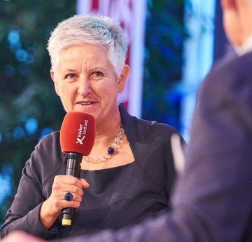 Karin Haist engagiert sich im Themenbereich Demographie/Einsamkeit im Alter