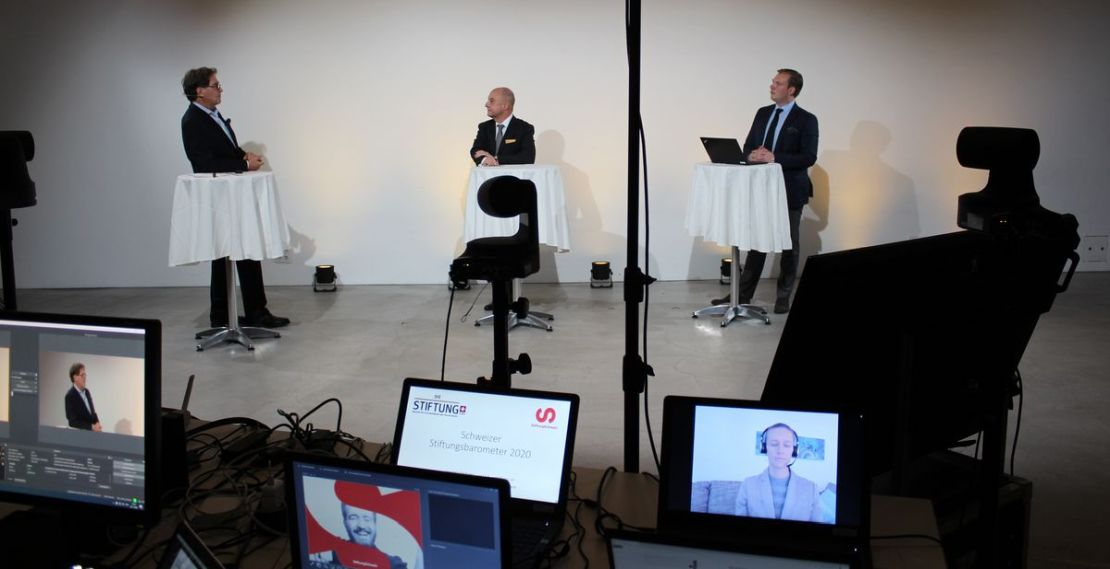 Beim diesjährigen digitalen Schweizer Stiftungstag präsentierte DIE STIFTUNG die Ergebnisse des ersten Schweizer Stiftungsbarometers.