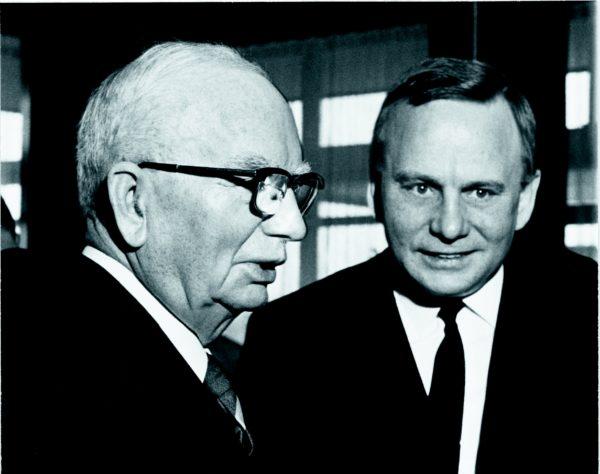 Georg Karg mit Sohn Hans-Georg Karg
