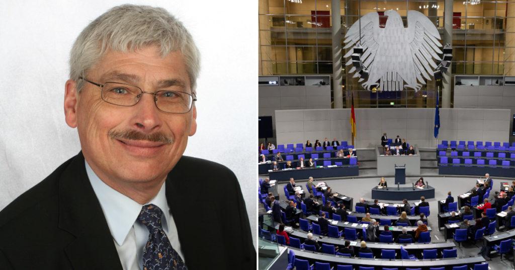 Ministerialrat a.D. Angelo Winkler wirbt für eine Verabschiedung der Stiftungsrechtsreform im Bundestag.