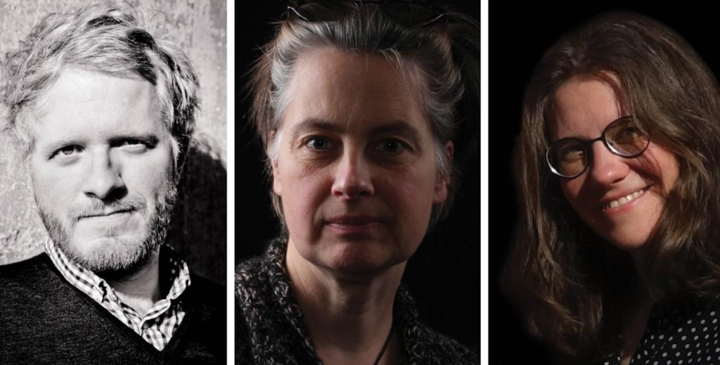 Daniel Beskos, Katharina E. Meyer und Sarah Käsmayr (von links) leiten ab Juni die Kurt-Wolff-Stiftung.
