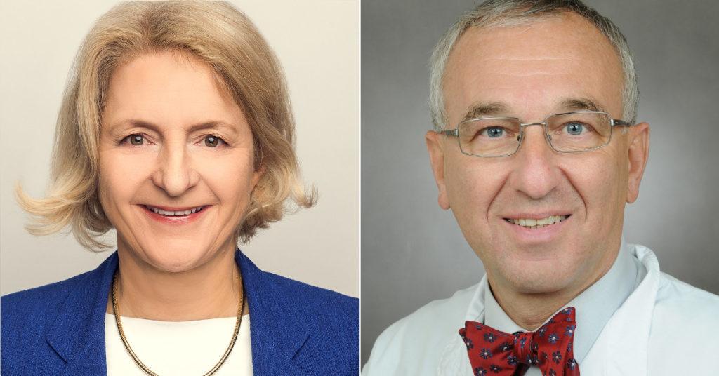 Neu im Kuratorium der DGD-Stiftung: Catharina Maulbecker-Armstrong und Wolfgang Schütte