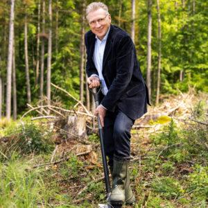 Laverana-Gründer Thomas Haase fördert unter anderem die Renaturierung von Waldgebieten.