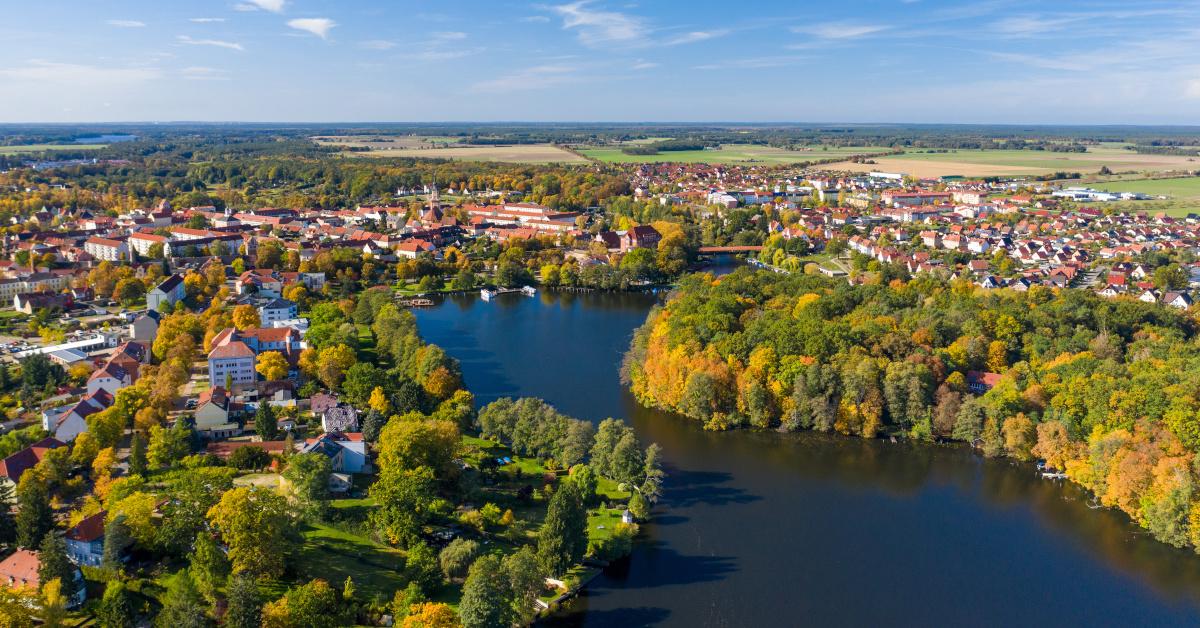 Templin, die flächenmäßig größte Stadt des Landkreises Uckermark, wo die Bürgerstiftung Barnim Uckermark aktiv ist.