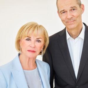 Liz Mohn und ihr Sohn Christoph
