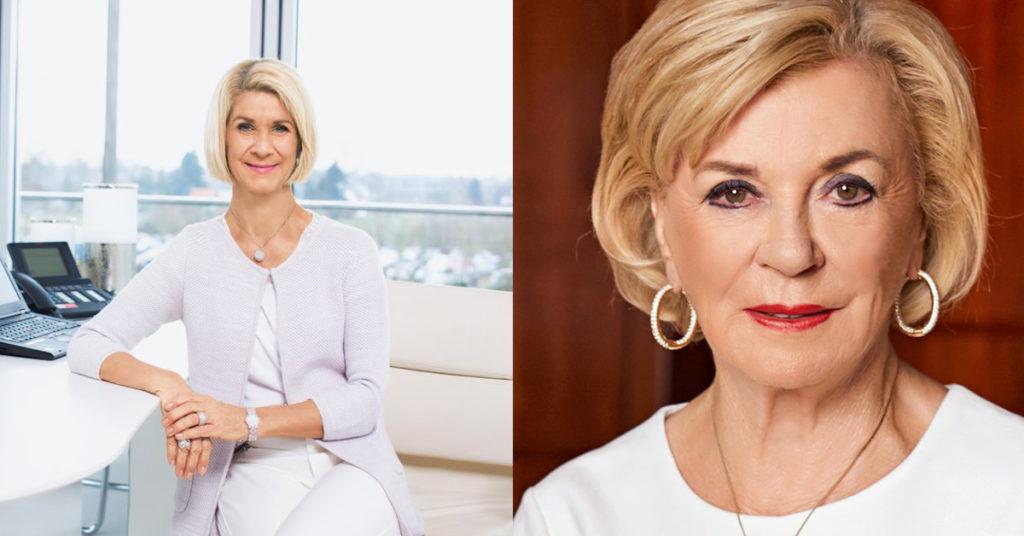 Hatten den Bundesgerichtshof auf ihrer Seite: Brigitte und Liz Mohn, hier bei einer Pressekonferenz der Bertelsmann-Stiftung.