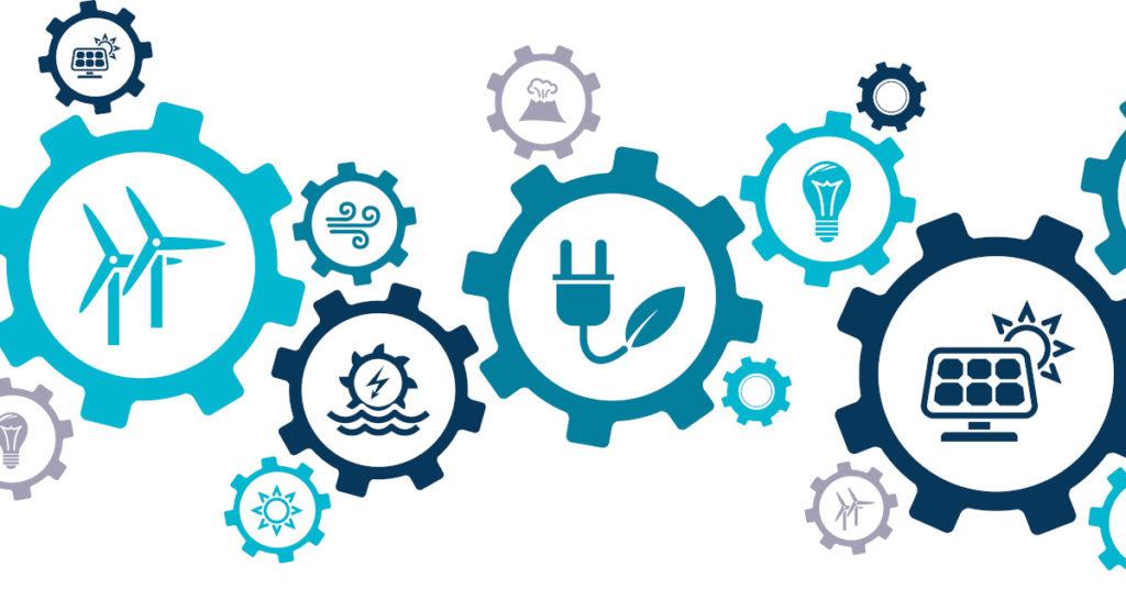 Nachhaltigkeit lässt sich im Bereich Infrastruktur besonders im Energiesektor darstellen.
