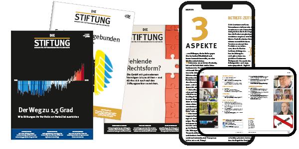 DIE STIFTUNG Digital & Print Non-Profit