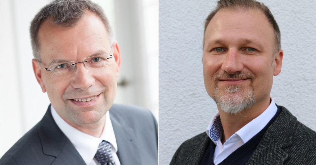 Ralf Tepel (links) übergibt zum 1. November an Daniel Heilmann.